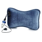Bluetooth Wired Headset Car Headset Pillow Cushion - Blue Grey
