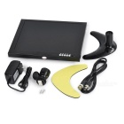 "10"" HD LED Car CCTV Monitor Displayer w/ Stand - Black"