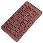 Bakeware Silicone English Alphabet Baking Molds for Chocolate Ice - Coffee