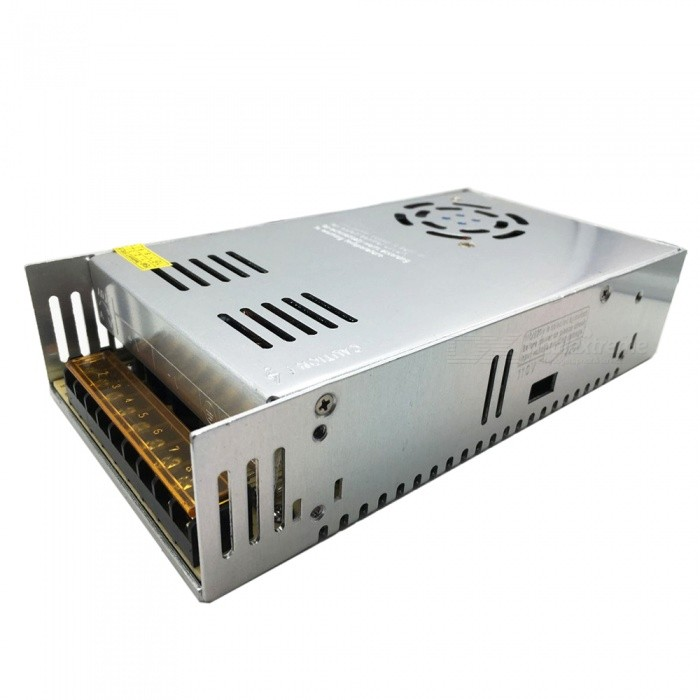 DC 12V 30A 360W Switching Power Supply for LED Strip - Silver