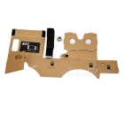 DIY Cardboard Virtual Reality 3D Glasses - Khaki