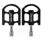 DEPRO Ultra-Light Magnesium Alloy Bicycle Bike Pedals - Black (Pair)