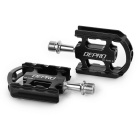 DEPRO van Ultra-Light Magnesium legering Bicycle fiets pedalen - Black (paar)