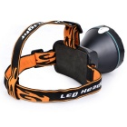 Marsing 10W Rechargeable LED Fishing Headlamp - Black + Orange