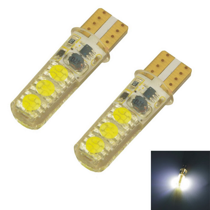 Carking T10 1.2W 95lm 6-SMD 5050 LED White Light Car Clearance Lamps