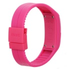 SKMEI Water Resistant LED Bracelet Watch - Deep Pink (1*LR1130)