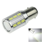 1157 / BAY15D 7W 700lm 6000K 18-SMD 5630 + 1-LED White Car Brake Light / Tail Bulb (DC 12V)