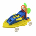 DIY Assembly Amphibious Autoboat for Kids - Yellow