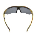 Polarized Sunglasses w/ Myopia Frame + Replacement Lenses - Camouflage