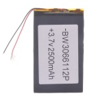 "Universal Replacement 3.7V 2000mAh Li-polymer Battery for 7~10"" Tablet PC - Black (03*66*112)"