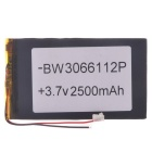 "Replacement 3.7V 2000mAh Li-polymer Battery for 7~10"" Tablet - Black"