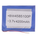 "Replacement 3.7V 3700mAh Li-polymer Battery for 7~10"" Tablet - Blue"