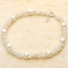 Elegant Engagement White Pearl Necklace