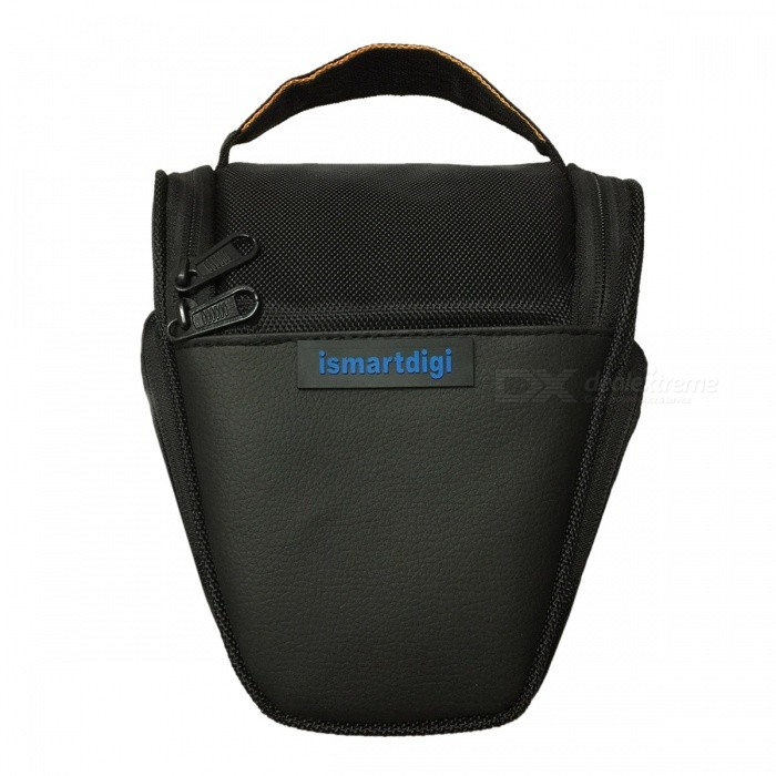 New I-T001 Camera Bag for All DSLR Nikon Canon Sony Olympus - Black