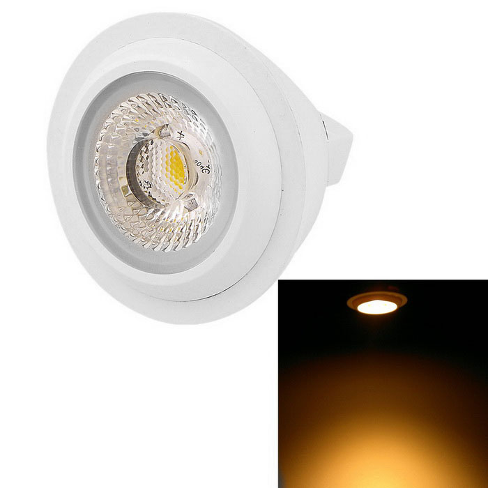 Youoklight MR16 6W 600lm blanc chaud 3500K ampoule 1-LED (AC / DC12V)