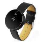 "IDO ONE 0.66"" OLED Bluetooth V4.0 Smart Watch w/ Pedometer Hands-free for iOS/Android - Black"
