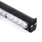 3-Mode amber + witte LED-auto knipperend licht - zwart (dc 12V)