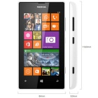 "Genuine Nokia Lumia 525 3G SIM Free 4"" Smart Mobile Phone - White"