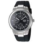 Genuine Casio Edifice EF-305-1AV Men's Multifunction Analog Watch - Black