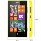 "Genuine Nokia Lumia 525 3G SIM Free 4"" Smart Mobile Phone - Yellow"