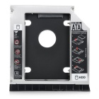 "12.7mm 2.5"" SATA CD Drive HDD Holder Bracket for HP 8460 + More - Silver"