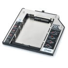 "9.5mm 2.5"" SATA / SATA II HDD Hard Drive Caddy Holder for CD - Silver"