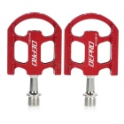 DEPRO Ultra-Light Magnesium Alloy Bicycle Bike Pedals - Red (Pair)