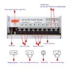 DC 48V 400W 8.3A Switching Power Supply for LED Strip - Silver