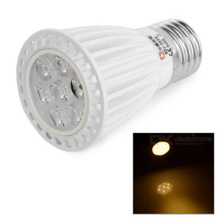 Lexington éclairage E27 7.5W 480lm 7-SMD 2835 projecteur blanc chaud