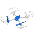 X6058 Outdoor 2.4GHz 4-CH R/C Quadcopter w/ 6-Axis Gyro - White + Blue