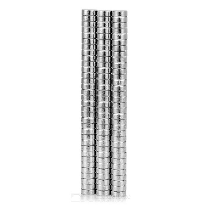 5 *2mm NdFeB Magnets - Silver (100PCS)