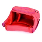 CADEN Women's Camera Storage Bag for Canon 50D, Nikon D90 - Deep Pink