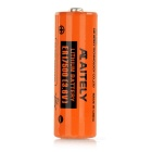 AITELY 3.6V Non-chargeable ER17500-K Lithium Battery w/ Plug Connector - Orange + Black