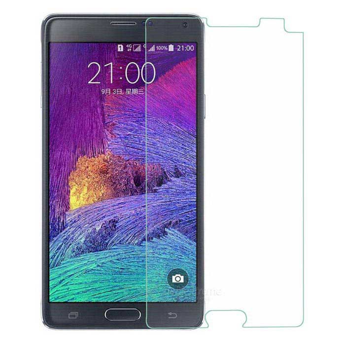 0.26mm Tempered Glass Screen Protector for Samsung Note4 - Transparent