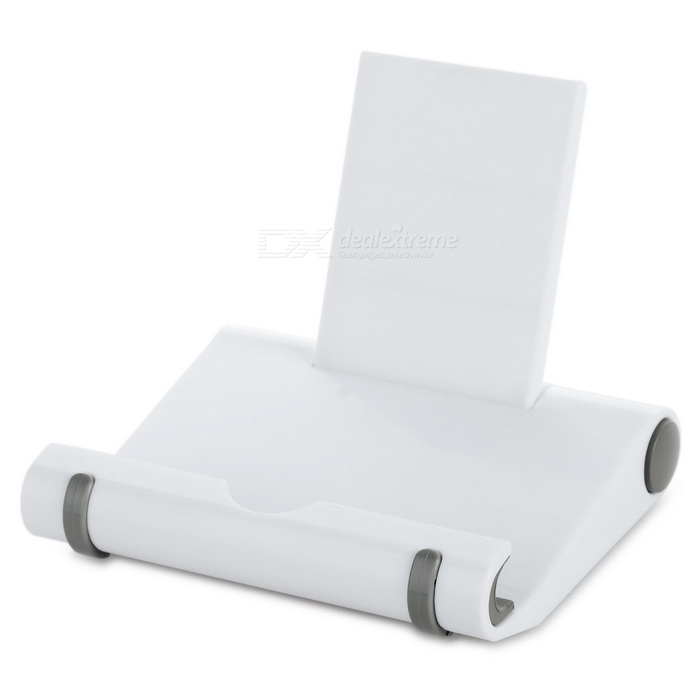 Universal Foldable Holder para Tablet PC / Celular - Branco