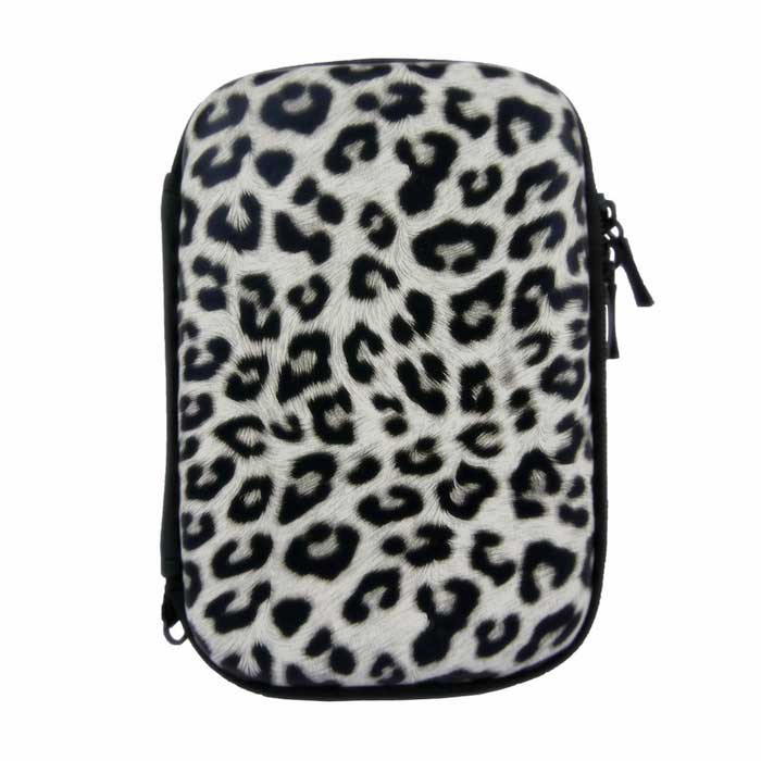 Anti-Shock Water-Resistant Bag Case for Hard Disk Drive - Black