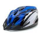 ROBESBON 18-Hole EPS Outdoor Cycling Helmet - Black + Blue + Multicolor