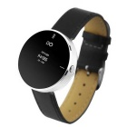 "IDO ONE 0.66"" OLED Bluetooth V4.0 Smart Watch w/ Pedometer for IOS / Android - Black + Silver"