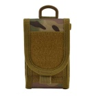 "4.7"" Outdoor Nylon Bag Pouch for IPHONE 6 / 5S / Cell Phones - Camouflage"