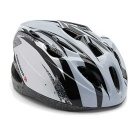 ROBESBON 18-Hole EPS Outdoor Cycling Helmet - Black + Grey