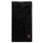 NILLKIN QIN Series Protective PU Leather + PC Case for Huawei Ascend P8 - Black
