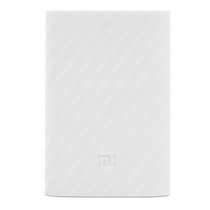 Xiaomi Protective Silicone Case for Mobile Power Bank 10000mAh - White
