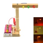 DIY Assembling Traffic Light Toy - Wood