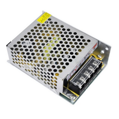 6A 75W Indoor Switching Power Supply for LED Strip - Multi-Color