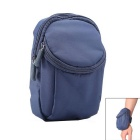 AKR Outdoor Sports Running Polyester Arm Band Bag for IPHONE - Dark Blue