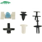 Car Rivets Fasteners Retainer Clips for BMW - Black + White (290PCS)