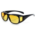Outdoor Sports Resin Sunglasses Goggles - Yellow + Black