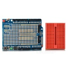 Duinopeak Prototype Shield w/ Breadboard for Arduino - Blue