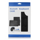 Portable Bluetooth v3.0 Keyboard w/ PU Case for Samsung T530 - Black
