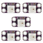 Mini WS2812B RGB LED Full-color Drive 4-Pin Módulos (5PCS)
